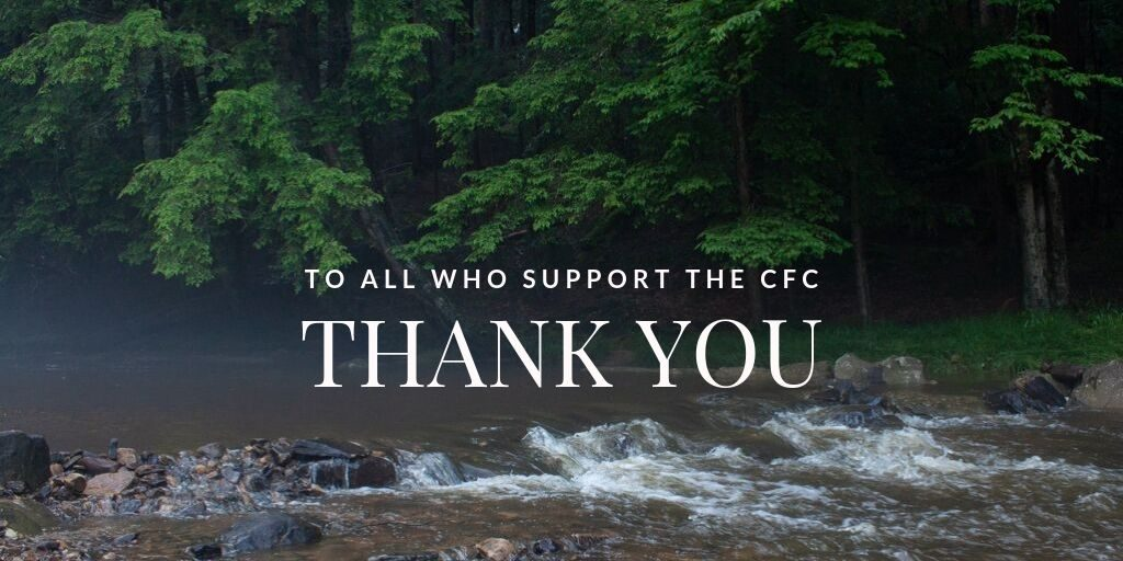 Thank you CFC supporters