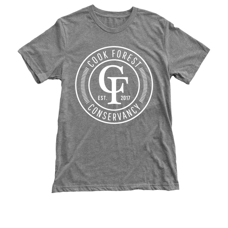 CFC tee in triblend grey